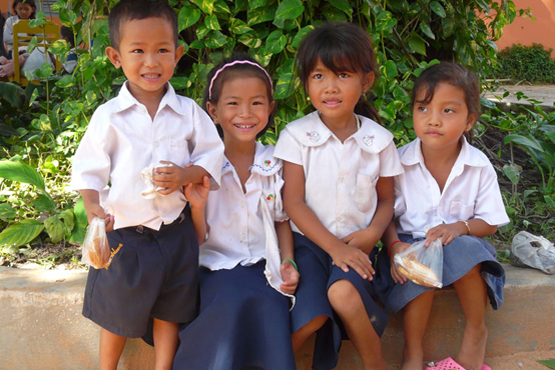 Sihanouk ville Population Young Population In School - Angkor Focus Travel