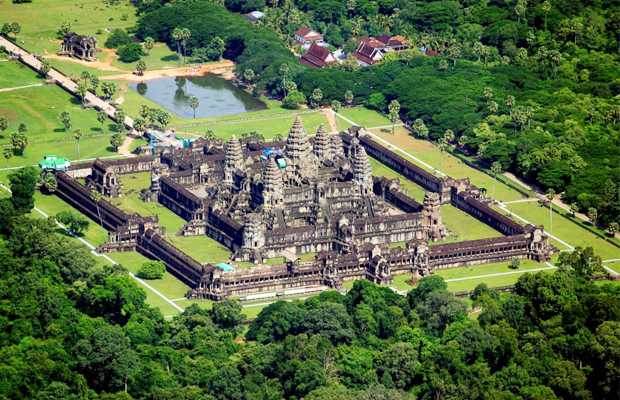 Sky Venture to take around the Angkor Wat Sky View - Angkor Focus Travel