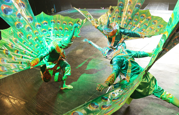 Smile of Angkor - Peacock Dancing Show - Angkor Focus Travel