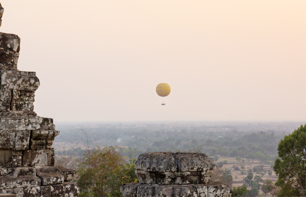 Sokha Balloon Rides Over Angkor Wat - Angkor Focus Travel