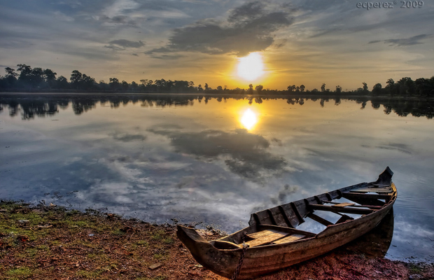 Srah Srang Sunset View - Angkor Focus Travel