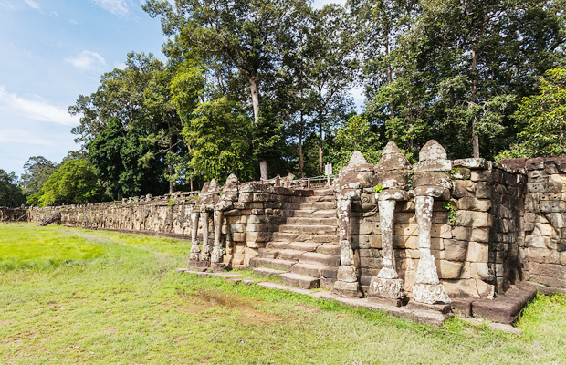 Terrace of the Elephant - Angkor Focus Travel