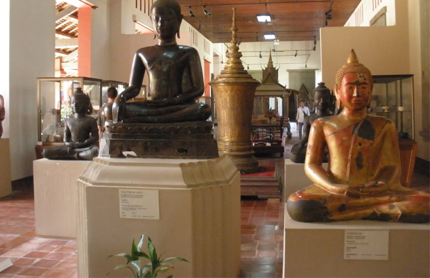 The National Musuem Phnom Penh - Buddha - Angkor Focus Travel