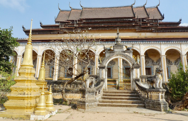 Wat Bo Pagoda in Siem Reap - Angkor Focus Travel
