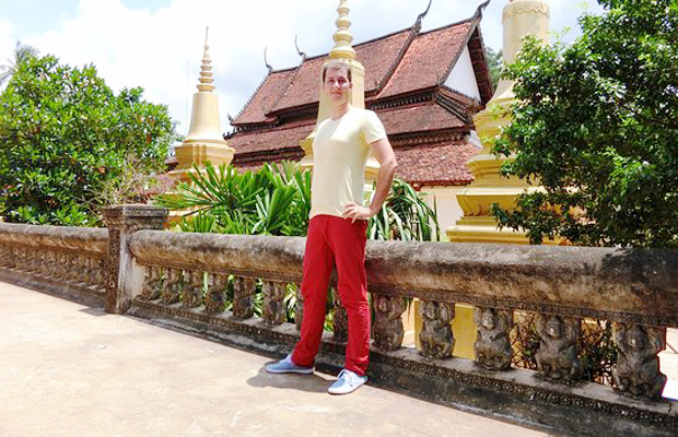 Wat Bo Pagoda traveler - Angkor Focus Travel