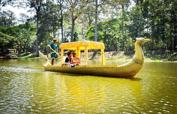 Wedding Ceremony with Gondola Angkor Boat - Angkor Focus Travel