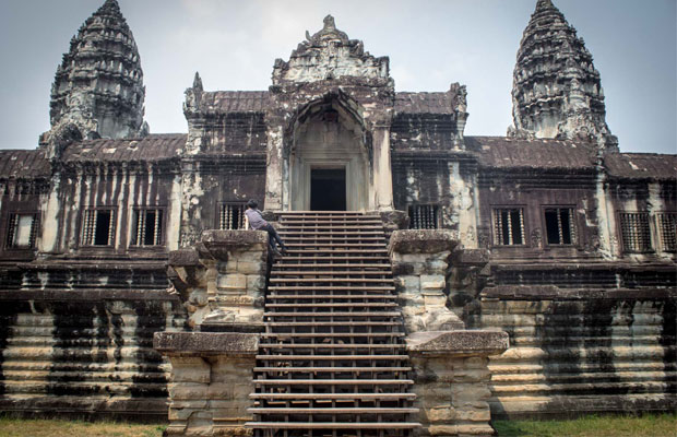 All view of Angkor Wat Temple