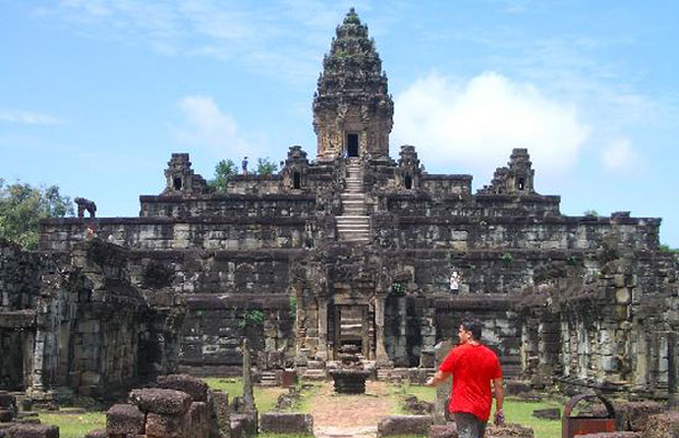Bakong Temple - Temple View 1