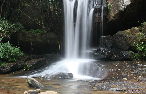 Kbal Spean - Waterfall View