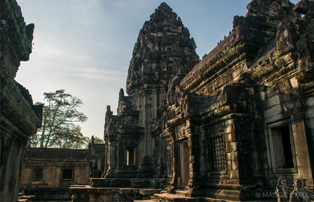 View of Prasat Banteay Samre