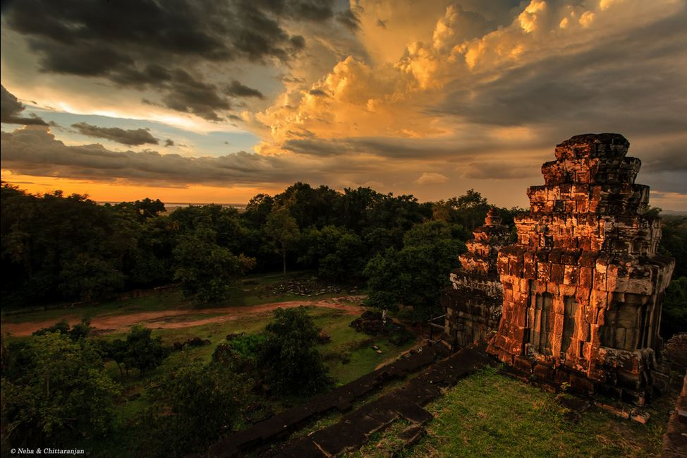 Phnom Bakheng Best Sunset View