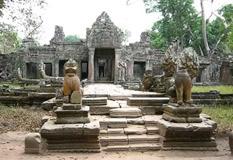 Siem Reap Cycling Tours at Preah Khan Temple