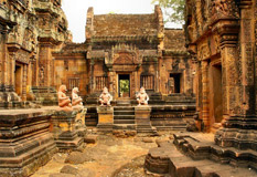 Cycling Tours to Banteay Srei Temple