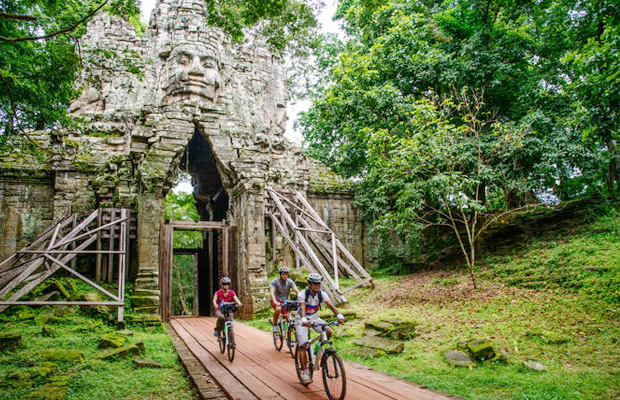 Angkor Cycling Tour 1 Day