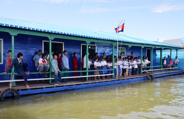 Pursat Floating Village