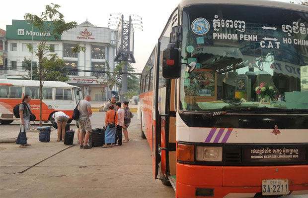 Mekong Express Bus
