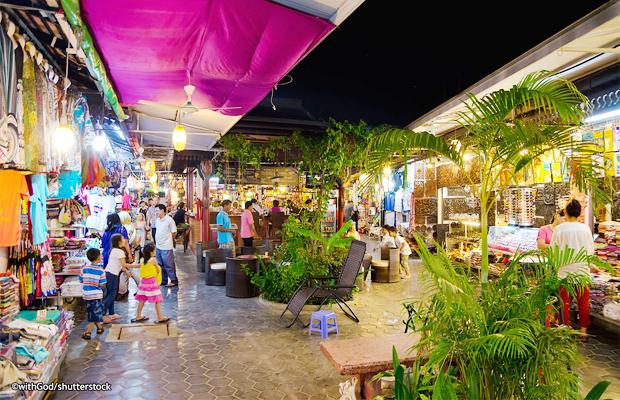 Siem Reap Shoping