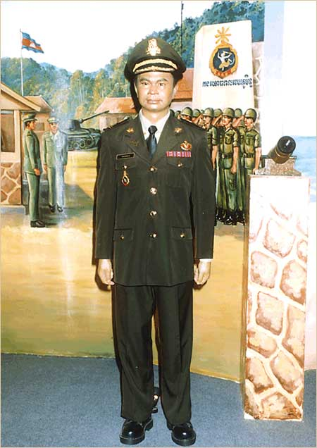 Uniform of Military Commander